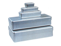 Alu box large grey (Size 25 x 10 x 5 cm) img