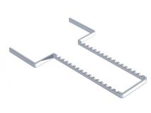 Aluminium anodisé  perforés porte-instruments img