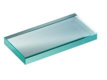 Glasplaat glad/mat 150x75mm  img