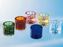 Dappenglas blauw  img