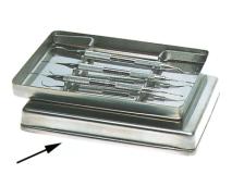 Acier inoxydable Couvercle (Format18 x14 x 2,5 cm) img