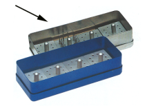 4 P. Fraises + boîte inox (Format 13 x 5 x 3,5 cm) img