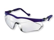 Hager iSpec® Flexi Fit II Lunettes de protection, bleu translucide img