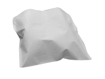 Crosstex polycoated headrest covers S white (Size 25 x 25 cm) img