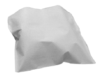 Crosstex polycoated headrest covers XL white (Size 25 x 33 cm) img