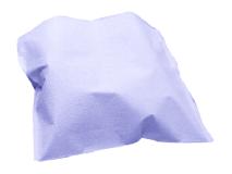 Crosstex polycoated headrest covers XL blue (Size 25 x 33 cm) img