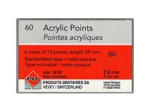 Acrylic punten 29mm roos ISO 20  img