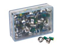 Adapt SuperCap vert matrices en acier 6,3mm x0,038  img