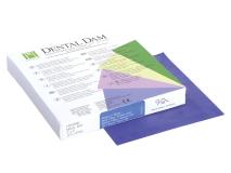 Dental Dam blue medium 127x127mm  img