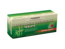 Anti-schuimtablet voor desinfectie  img