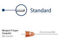 Miraject P Super (Carpule) 0.9 x 32 mm/20G img