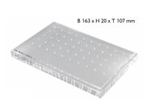 Bur block non-sterilizable plexi 2808 img