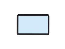 beschermhoesjes voor fosforplaat met frame 24 x 40 mm img