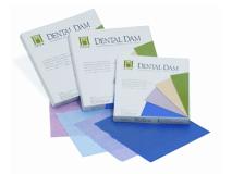 Dental Dam blue heavy 15x15cm  img