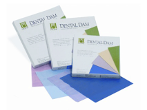 Dental Dam blue medium 150x150mm  img