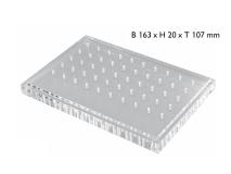 Bur block non-sterilizable plexi 2807 img