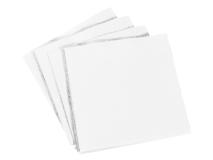 Serviettes blanc 40x40 4-pli  img