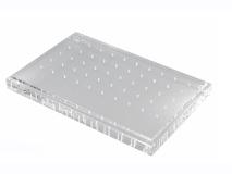 Borenblok in plexiglas voor 25 FG en 25 RA boren  img