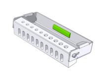 Bur Flash 10 perfo. MX (Format  7,3 x 3,3 x 1,3 cm) img