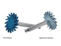 Clearfil Twist DIA high-shine polishing lichtblauw 10mm  img