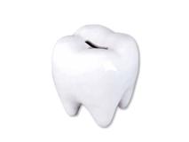 Tirelire en forme de dent img