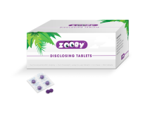 Zooby Disclosing Tablets Plaque control, dual-color detection img