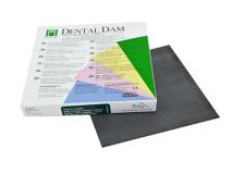 Dental Dam dark thin 152x152mm  img