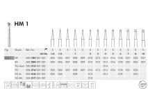 ME HP 1-020 staalboor  img