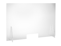 Veiligheidsscherm in polycarbonaat 67 x 119 x 0,6 cm img