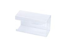Distributeur de gants transparant XL img