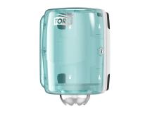 TORK CENTERFEED DISPENSER M2 (wit turqoise) img