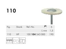 110 HP 190 polijstborstel (horse hair, white) img