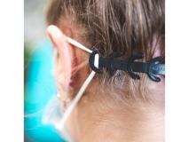 Ear-saver elargisseur masque - noir img