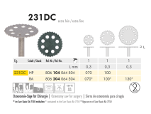 231 DC disque diamanté chirurgical img