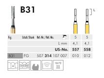 B 31 Black Cobra fraise en carbure de tungstène img