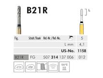 B 21 R FG 012 Black Cobra fraise en carbure de tungstène img