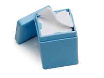 Distributeur pour compresses bleu img