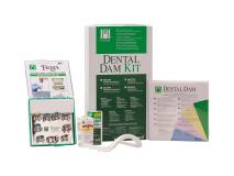 Digue dentaire Latex standard kit (avec ailettes) img