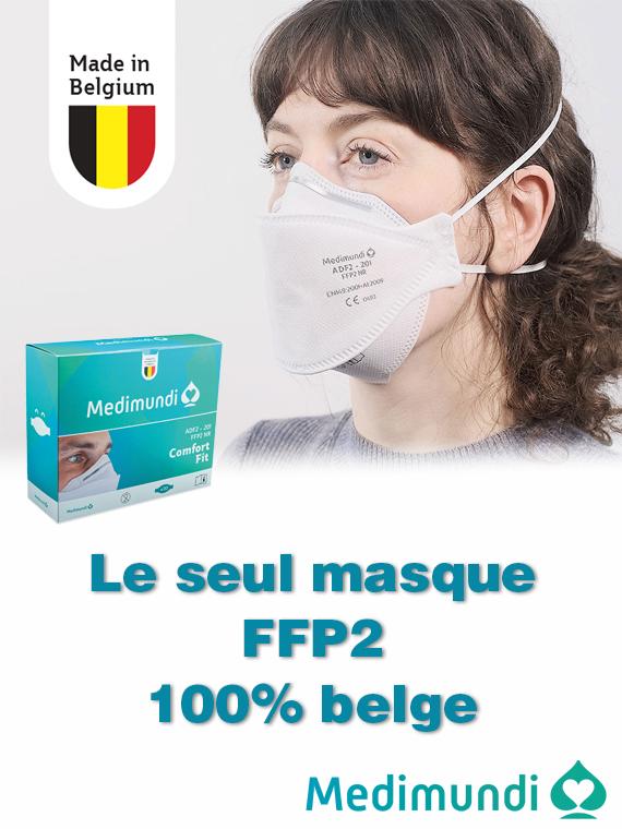 Le masque FFP2 pour les professionnels de la santé img