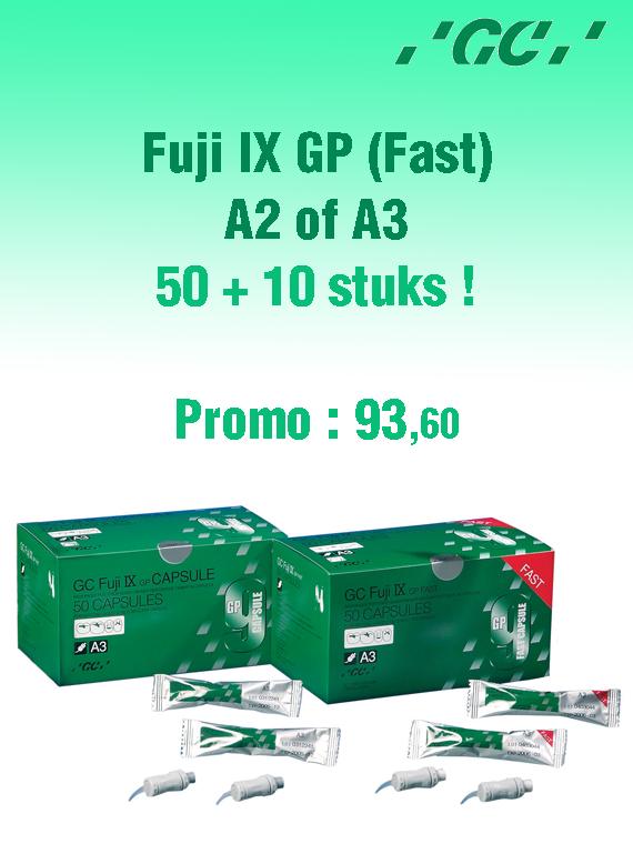 Fuji IX GP (Fast) 50 +10 img