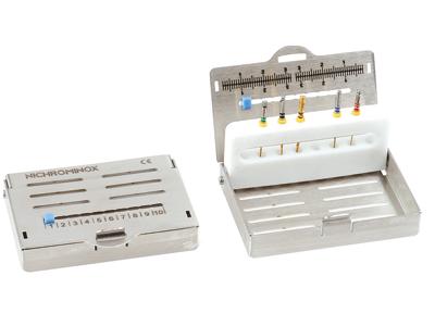 Nichrominox Endo Pro 8, voor 8 instrumenten 182350 A10681 img