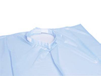 Roeko schort blauw met buidel 1x1 634024 A11048 img