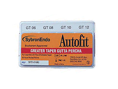 Sybron Autofit greater taper GP .06-12 972-0100 A19147 img