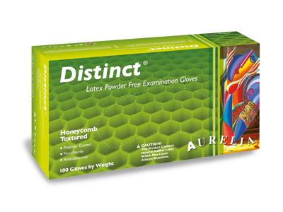 AURELIA Distinct handschoen latex PF x-small 1x100 29225 A29802 img