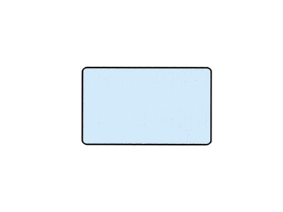 Wapro Fosfor sleeves size 1 24x40mm 1x250 7218 A30360 img