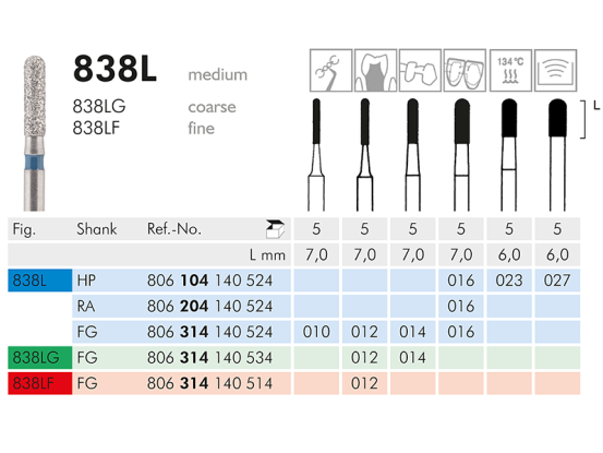 ME FG 838LF-012 diamantinstrument 1x5 806314140514012 A36062 img
