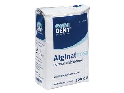 Omnident alginaat roos normal set 500g 88091 A36178 img