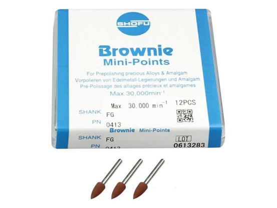 Shofu Brownie Mini points FG 1x12 413 A37485 img