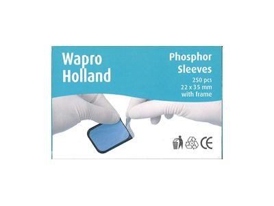 Wapro Fosfor sleeves size 2 22x35mm 1x250 7222 A39204 img