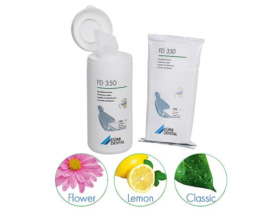 Durr H.FD 350 ontsmettingsdoekjes Flower 1x110 CDF35FA1252 A41305 img